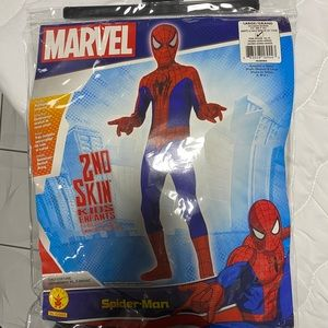 Spiderman jumpsuit costume child size L(10-12)